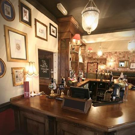 Sir Henry Morgan: Our bar stocks a great selection of ales, lagers, wines and spirits