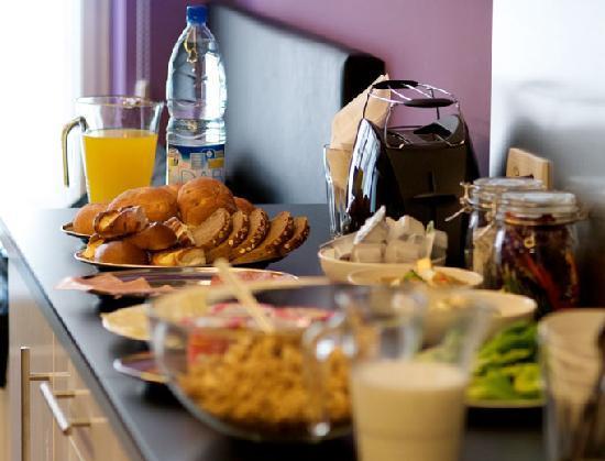 Angel House Bed & Breakfast: Breakfast