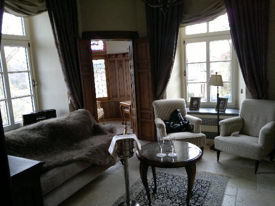 Château d'Urspelt : Suite salon