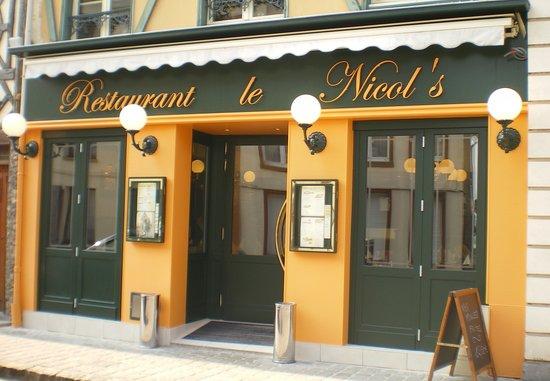 Le Nicol's: photo réalisée suite aux travaux de réaménagement du restaurant en février 2011