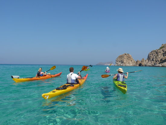 Sea Kayak Milos
