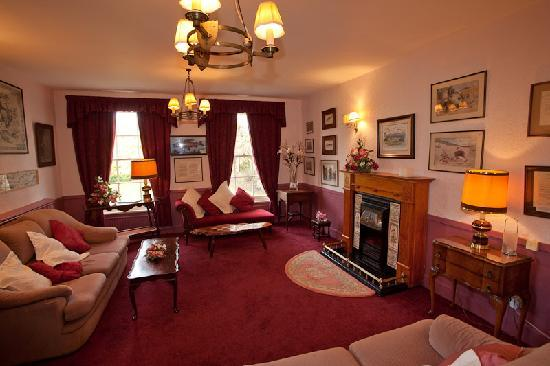 Tankerville Arms Hotel Wooler: Residents Lounge
