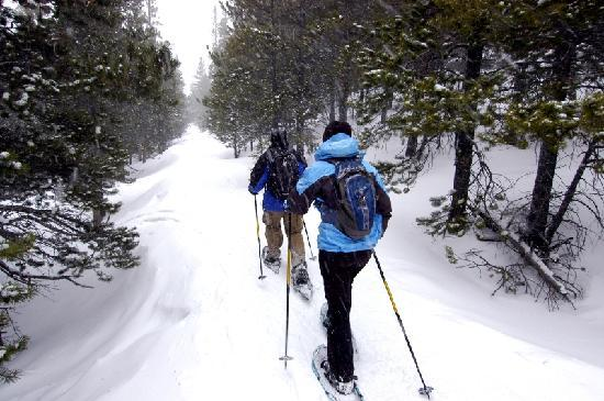 The Lodge at Geneva-on-the-Lake: Snowshoe rentals & cross country skiing trails in Winter