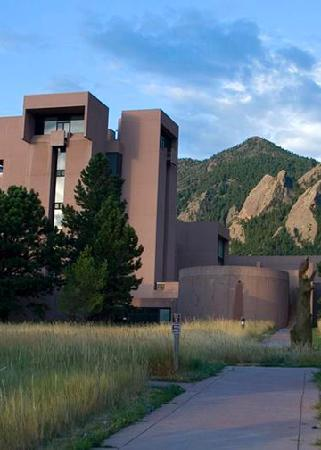 Boulder, CO: Stunning architecture, beautiful setting, with weather and climate exhibits inside