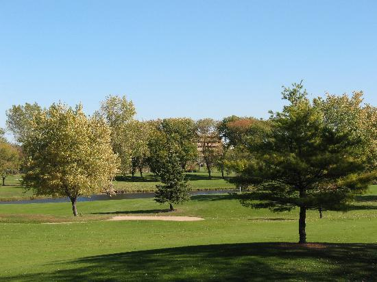 The 18-hole Brookfield Hills Golf Course surrounds our property.