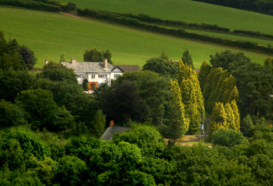 Three Acres Country House: Three Acres and the Exmoor Hills