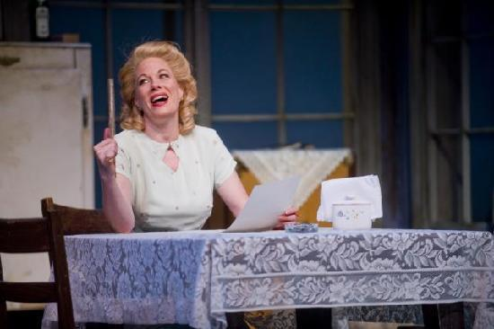"Barrington Stage Company: Marin Mazzie in ""A Streetcar Named Desire"" (Photo by Kevin Sprague, 2009)"