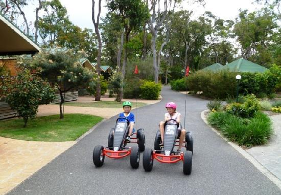 NRMA Ocean Beach Resort and Holiday Park: Go karts