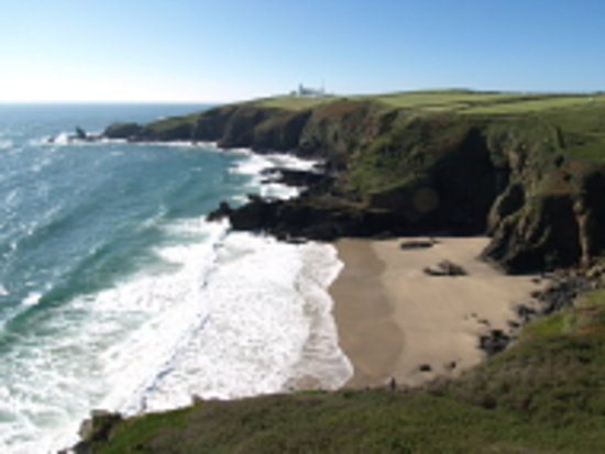 Lizard, UK: Housel Bay in Cornwall