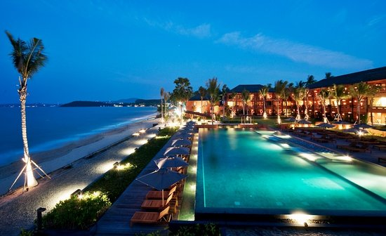 Hansar Samui Resort: Perfect Beachfront Location in Bophut!