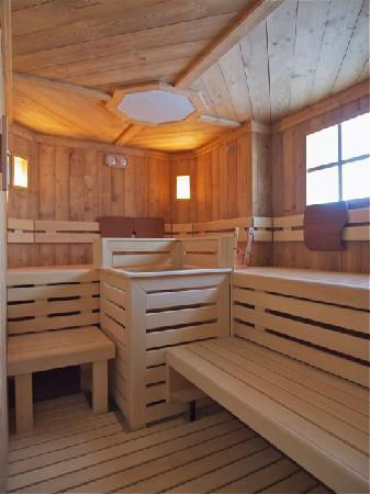 Folgarida, Italien: The Sauna