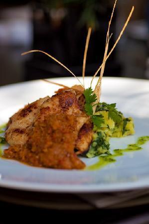 The Villa Cafe : Lemongrass and Ginger Chicken