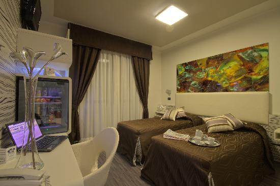 Hotel Le Palme: double room art design