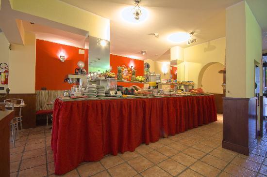 Hotel Le Palme: breakfast