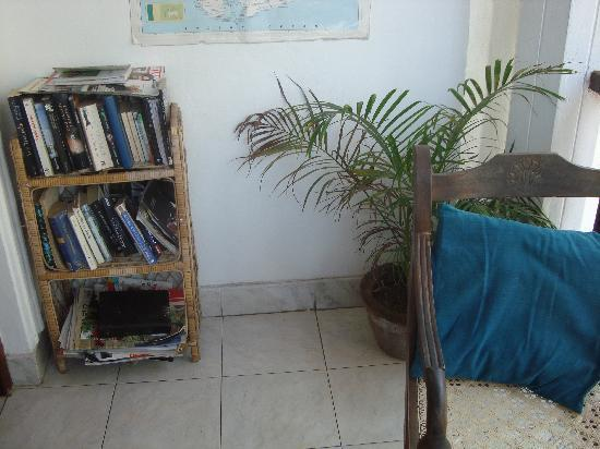 Fort Inn Guest House: small library
