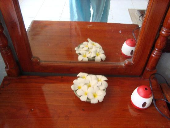 Fort Inn Guest House: flower with mirror