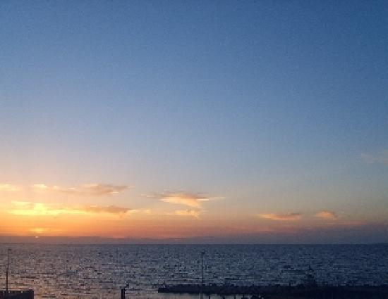 B&B Residenza CandiaMare : tramonto dal solarium