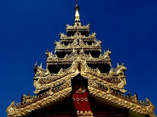 Shwemawdaw Paya: Beautiful gilded roof at Shwemawdaw