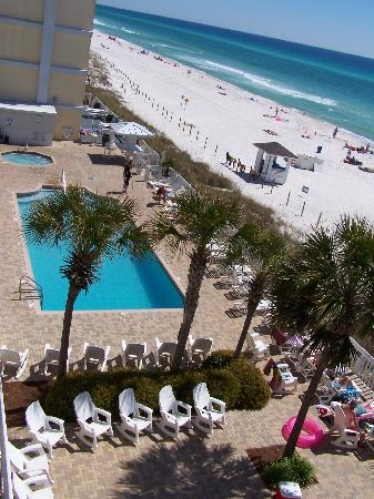 Sugar Sands Inn And Suites Pool Deck Beach
