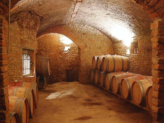 Fattoria Poggio Capponi: Vecchie Cantine / Old Cellars