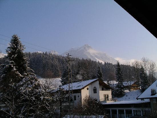 Scheffau am Wilden Kaiser, Austria: View from the back..