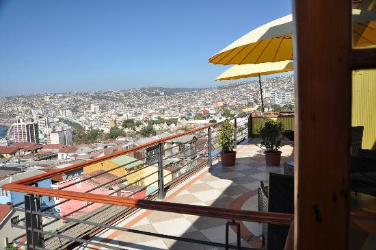Hotel Boutique Acontraluz: terraza