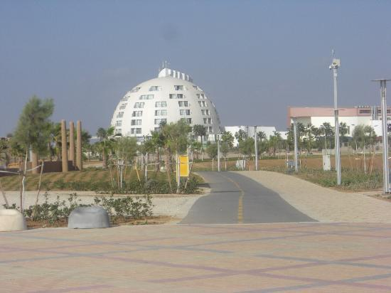 Ashkelon, İsrail: Einziges Strandhotel
