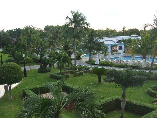 Hotel Riu Palace Mexico: View from room 1045