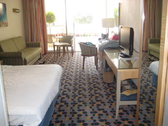 Isrotel Sport Club: Bedroom