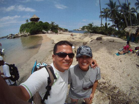 Santa Marta, Colombia: playa san juan