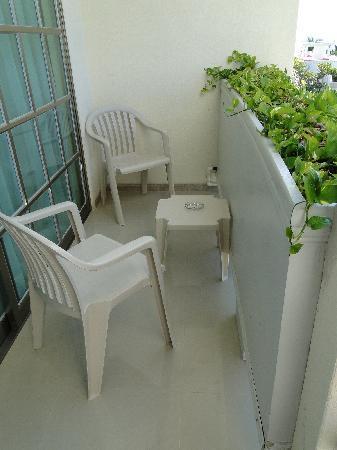 Hotel Posada Sian Ka'an: Room Balcony
