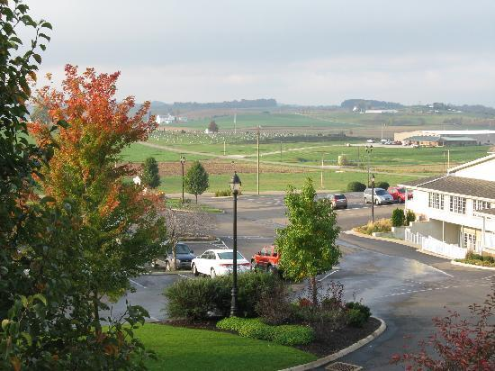 Sugarcreek, OH: View from our room