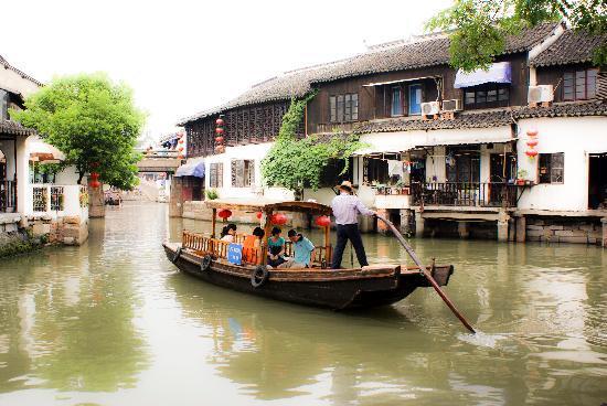 Shanghai, China: Around Zhu jia jiao