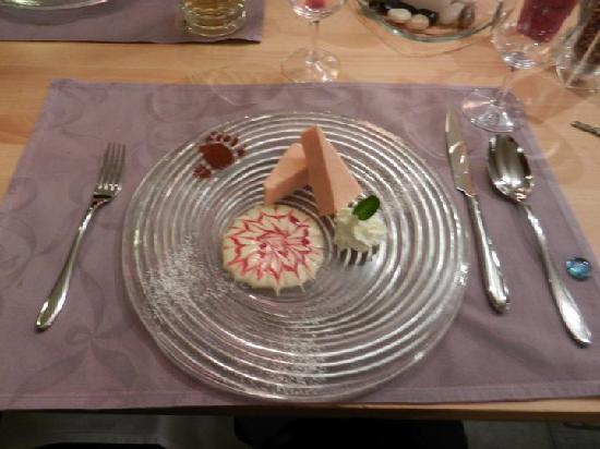 Hotel Baeren: Dessert at the Baeren