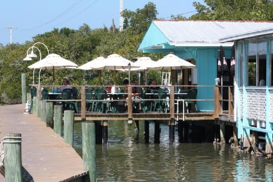 Dining on the water is the best just beautiful picture for Casey key fish house