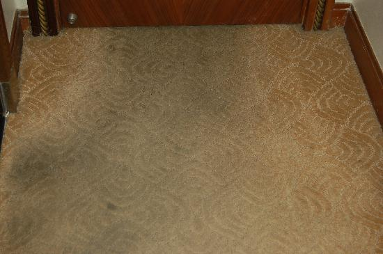 Redwall Hotel Beijing: disgusting carpet
