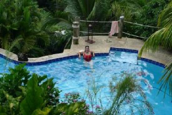 Las Palmas B&B: Paradise Pool-Swimming before Breakfast