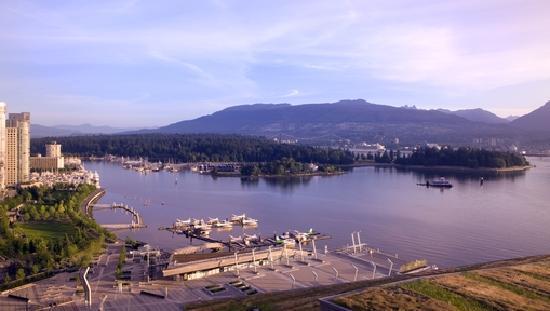 Fairmont Pacific Rim: Deluxe Harbour Mountain View