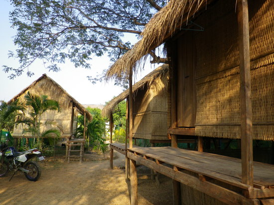 Olly's Place Kampot: Like waking up in a basket