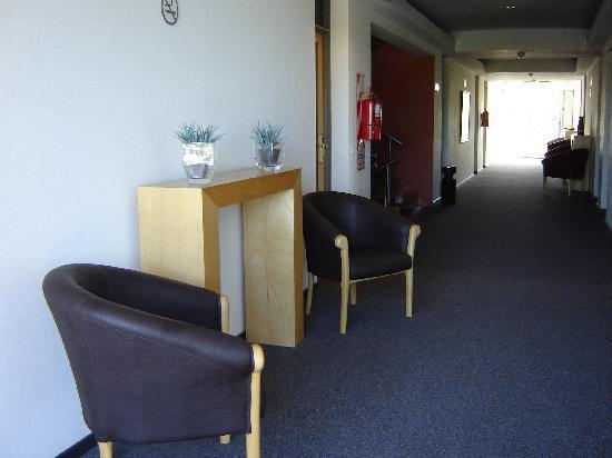 Hotel Nuevo Mundo: Hall hotel