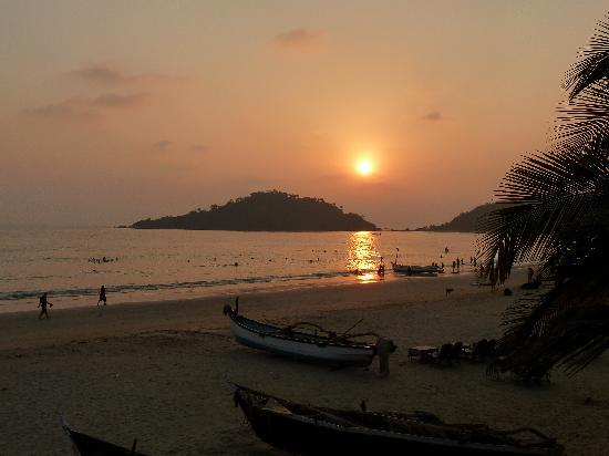 Palolem Beach : Sunset at Palolem