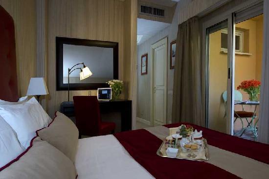 Hotel dei Borgognoni: sigle room of  borgognoni hotel rome