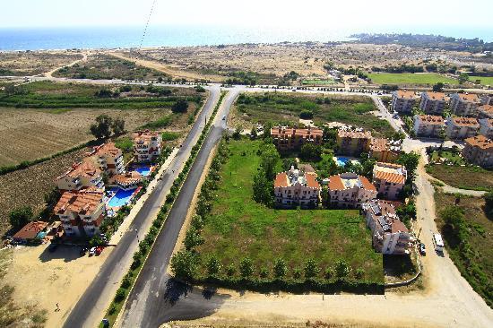 Irem Garden Hotel & Apartments: map of ırem