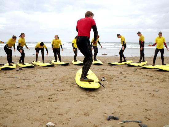 Preseli Venture: learn to surf sessions