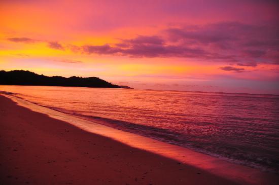 Sunset at Doany Beach