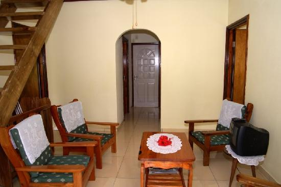 Pension Hibiscus: sitting room