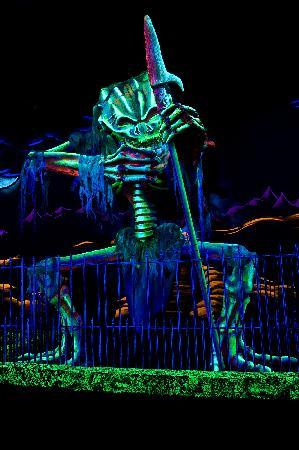 Monster Mini Golf: One of the monsters