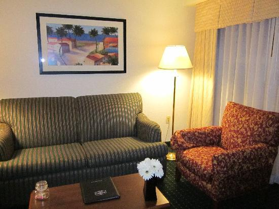 Residence Inn San Diego Sorrento Mesa/Sorrento Valley: living room