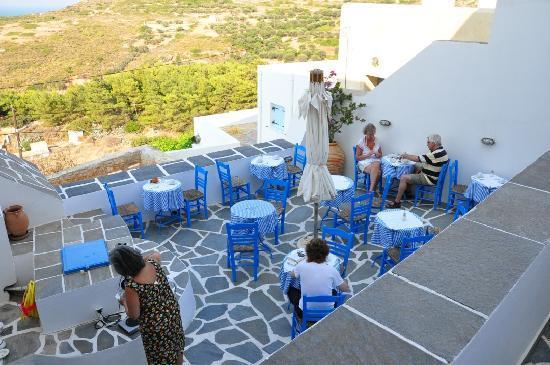 Margarita Hotel: Terrasse pour le petit déjeuner