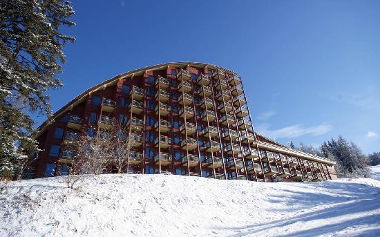 Hotel Mercure - Les Arcs 1800 : vue de l hotel en rentrant directement des pistes